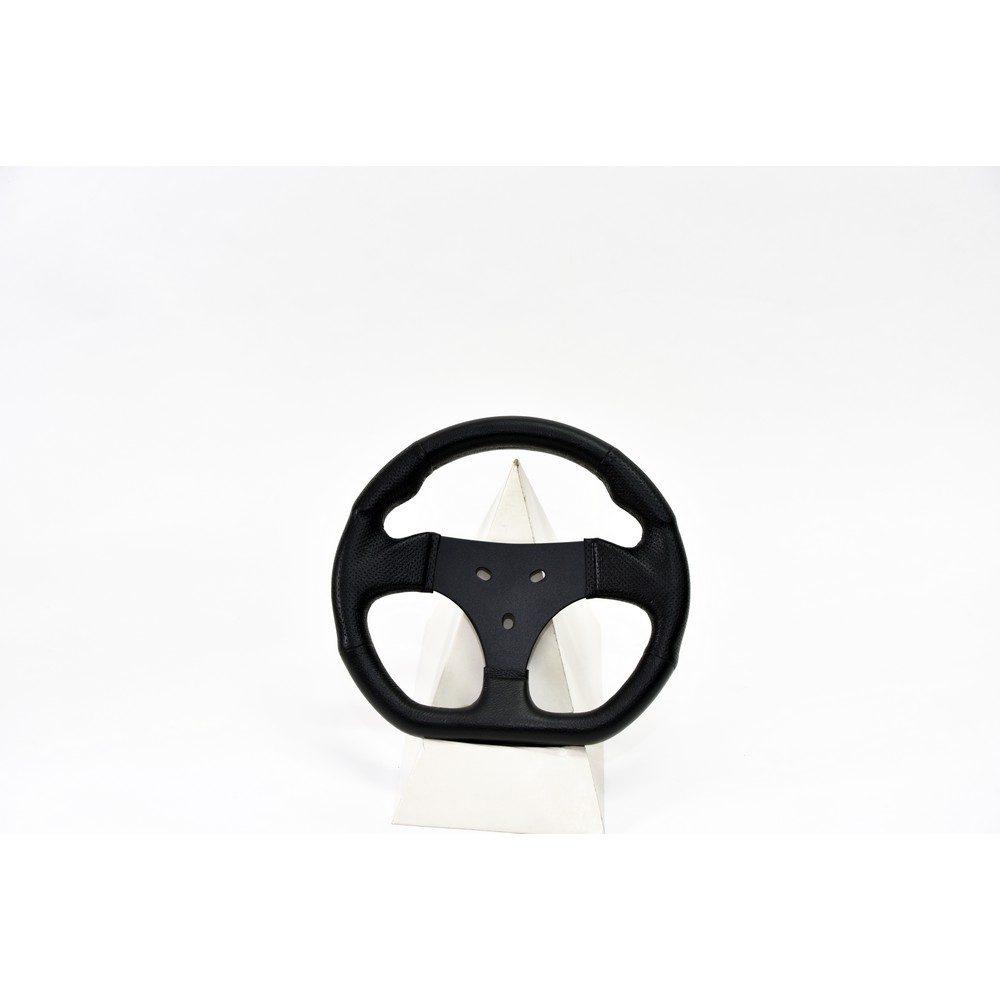 40108_FV_Kart-250_-impugnatura-anatomica-piatto-sotto_razza-in-ferro-verniciato-nero_-spessore-4-mm_-poliuretano-integrale-nero